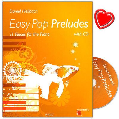 Easy Pop Preludes - 11 Klavierstücke - Acanthus-Music - ACM277 - 9990001220549