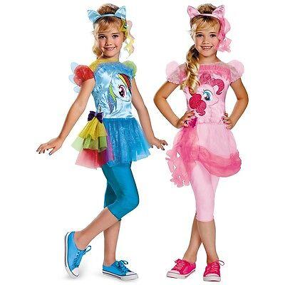 My Little Pony Costume Kids Halloween Fancy Dress - Mlp Halloween Costumes