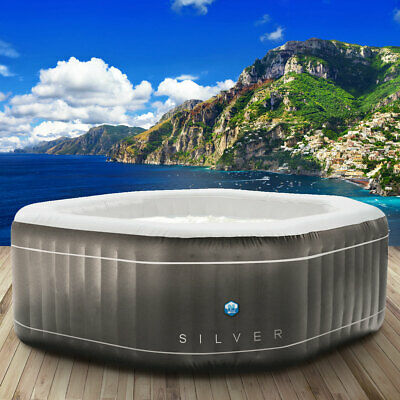 Whirlpool Netspa In-Outdoor Pool Wellness Heizung Massage aufblasbar 195x195cm