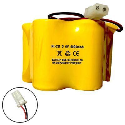 6v 4000mAh Ni-CD Battery for Emergency / Exit Light segunda mano  Embacar hacia Argentina