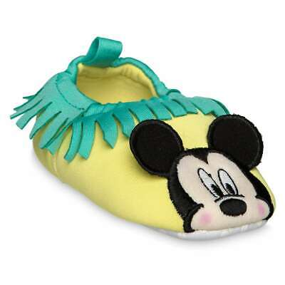 Disney Swim Shoes (Disney Authentic Mickey Mouse Cute Swim Shoes for Baby Size 0 6 12 18 24)