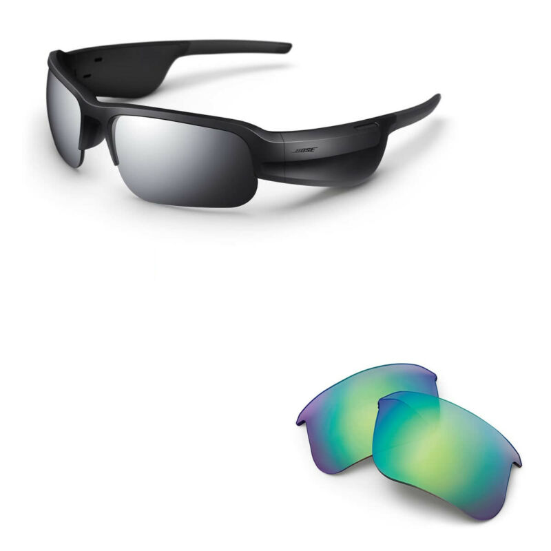 Bose Tempo Sports Bluetooth Audio Sunglass Frames with Replacement Lenses