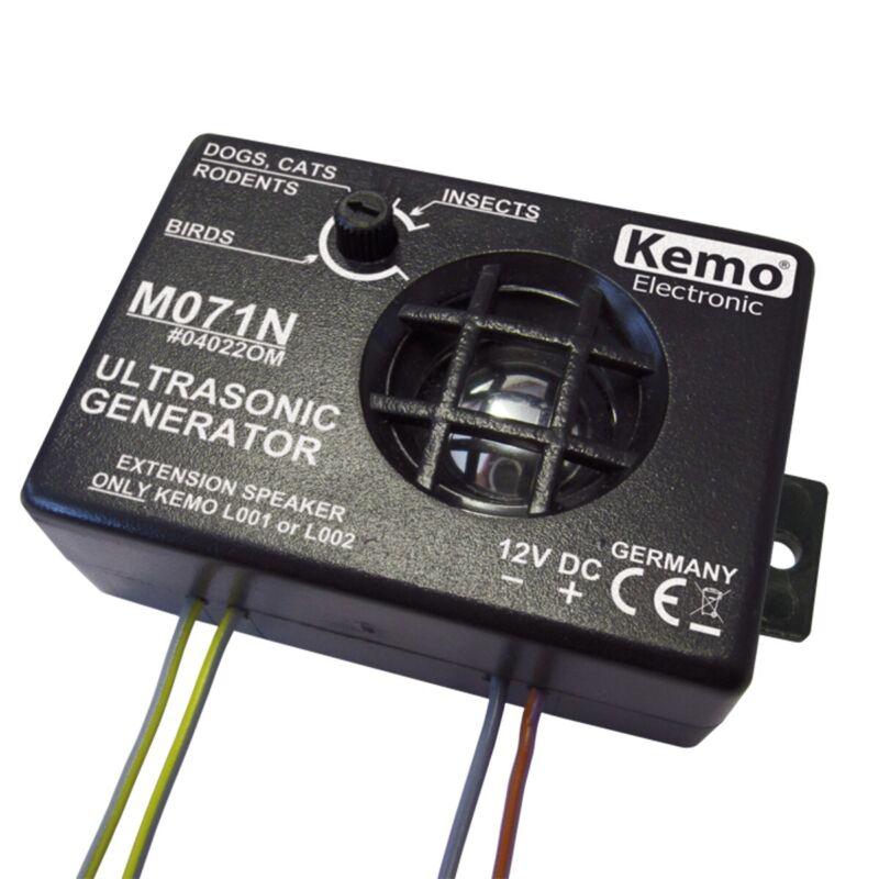 [3DMakerWorld] Kemo Ultrasonic Noise Generator