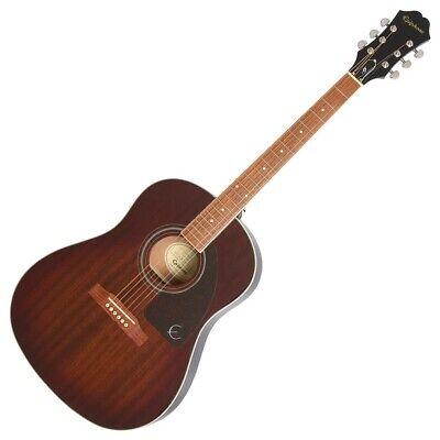 Epiphone AJ-220S Acoustic Guitar - Mahogany Burst