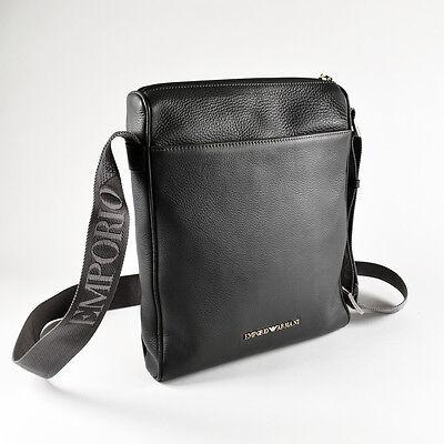 106468f552b5 Emporio Armani Grey Men's Shoulder / Messenger / Reporter Bag - Brand New  фото