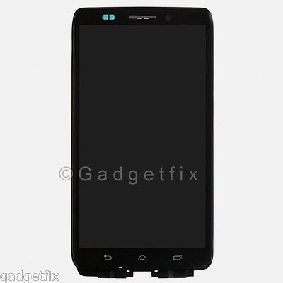 Motorola Droid Ultra XT1080 MAXX 1080M LCD Evince Digitizer Touch Screen Frame