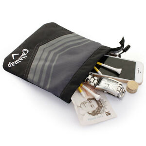 Callaway Golf Sport Valuables Pouch Accessories Bag - Gray/Black