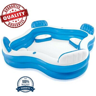 Intex Inflatable Outdoor Swim Center Children Family Lounge Pool Swimming
