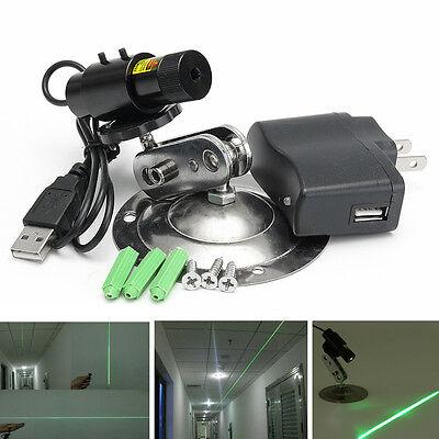 532nm 50mw Green Laser Module Locator For Cutting Machineadapter Mountbracket