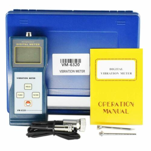 Digital Vibration Meter Analyzer Gauge Vibrometer Measuring Instrument