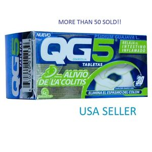 QG5-COLITIS-REMEDY-CONT-30-TABLETS-GREAT-PRICE-RELAX-inflammatory-bowel