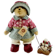 Boyds Bears Plush Snowman