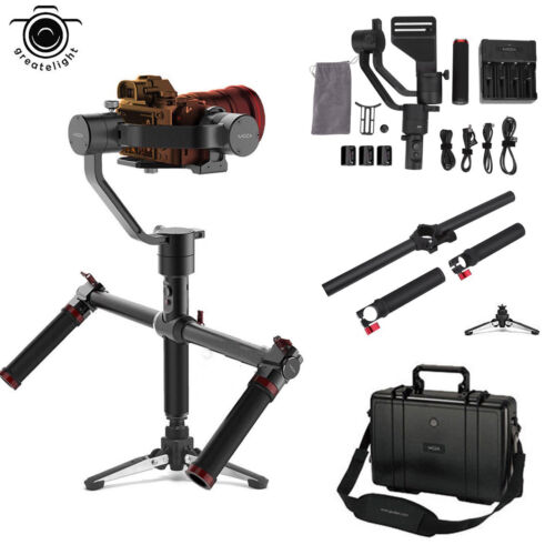 MOZA Air 360° Roll 3Axis Stabilizer Handheld Gimbal + Dual