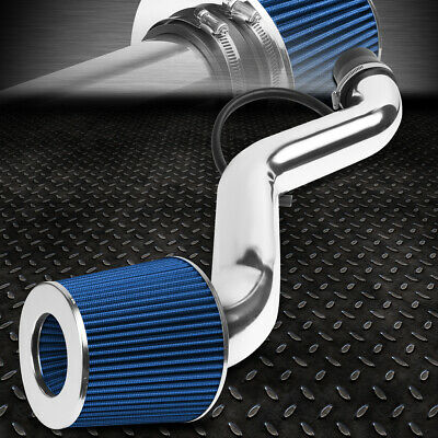 FOR 1994-1997 HONDA ACCORD 2.2L ENGINE SHORT RAM AIR INTAKE SYSTEM+BLUE -