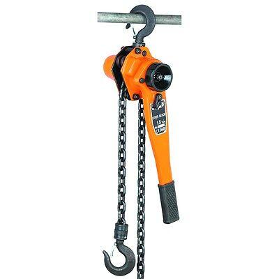 New 1-12 Ton Lever Block Hoist Chain Ratchet 5 Ft Come Along