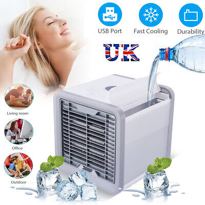 Portable Air Conditioner Mini Cooler Fan Humidifier Purifier USB Cooling Home UK