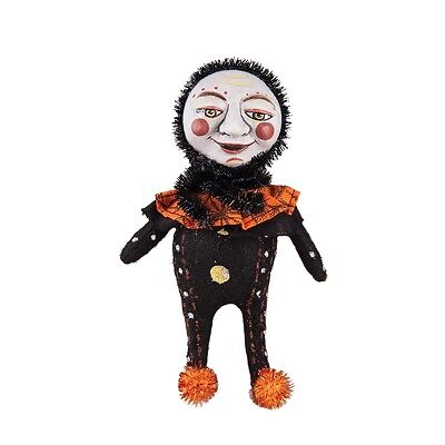 """Luna Moon Face Doll 6.25"""" Halloween by Margarita C. Castillo-Bernard - FGS71635"""