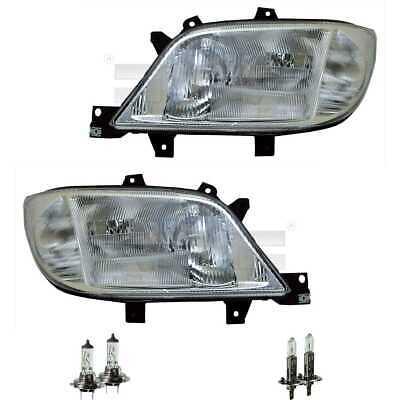 Scheinwerfer Set H1/H7 für Mercedes Sprinter 4-T Bus 904 901 902 inkl. Lampen