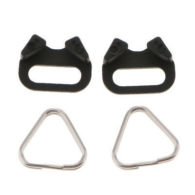 4pcs/set Camera Strap Triangle Split Ring Hook 10mm for Canon Nikon Sony Olympus