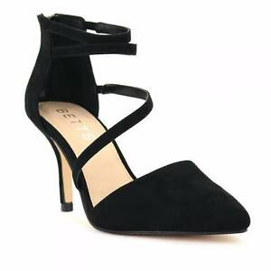 Betts Ash Black Pointy Heels Calamvale Brisbane South West Preview