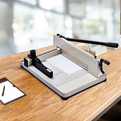 Paper Cutter12 Inch A4 Guillotine Trimmer Cutting Machine 400 Sheets Heavy Duty