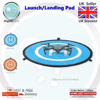 75cm Drone Landing Launch Pad Helipad For DJI Mavic Phantom 4 3 2 RC Drone