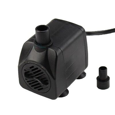 160 GPH Submersible Water Pump Aquarium Fish Tank Powerhead Fountain Hydroponic