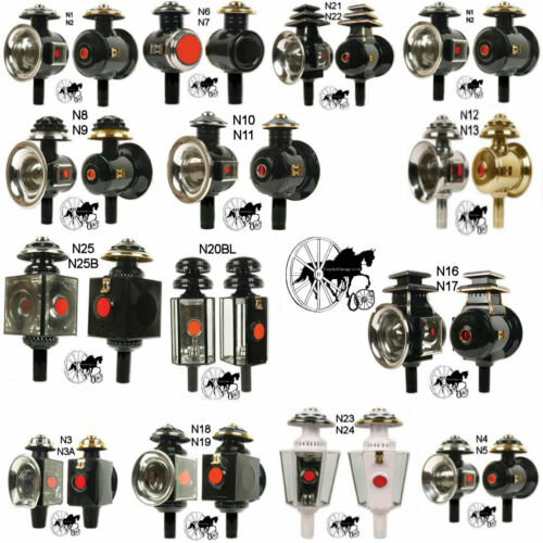 Carriage Coach Lamps 17 Different styles LED Candles Included