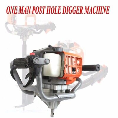 52cc Gas Power Earth Post Hole Planting Auger Digger Machine W Epa