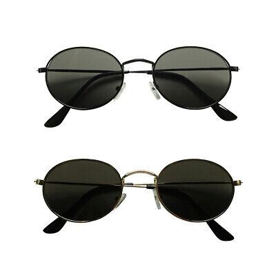ShadyVEU 70s Style London Hippie Fashion Slim Thin Metal Wire Mens (70s Style Sunglasses Mens)
