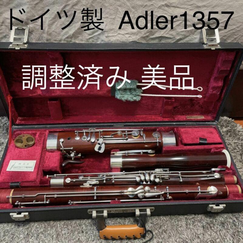 Excellent adjusted Germany Adler JDR 1357 bassoon Oscar used in Japan