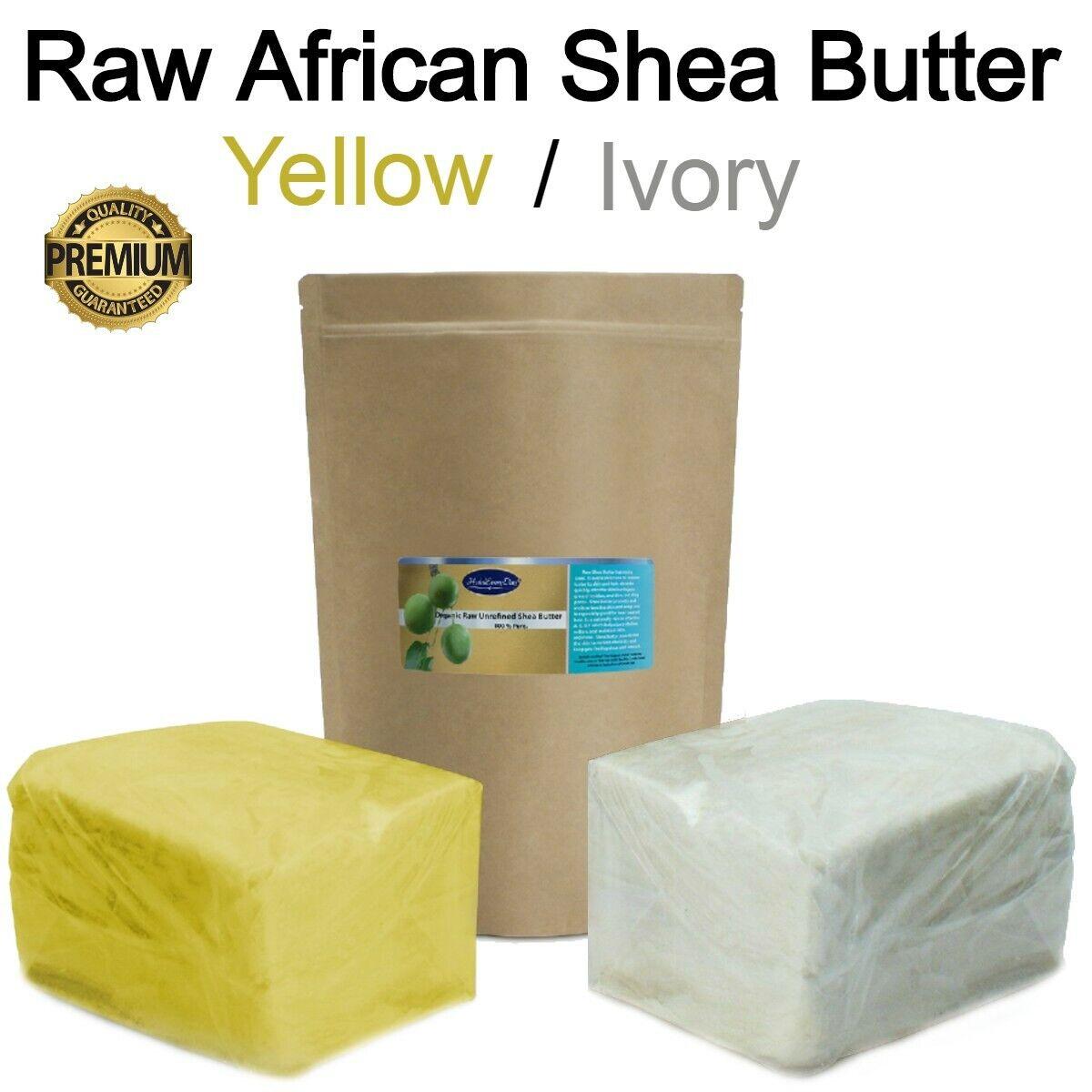 Raw African Shea Butter 100% PREMIUM Organic Unrefined Pure