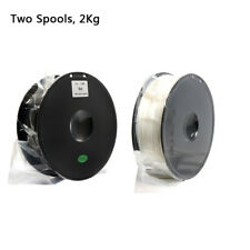 Geeetech Two Spools PLA Filament de 1.75mm noir et blanc for Imprimante 3D