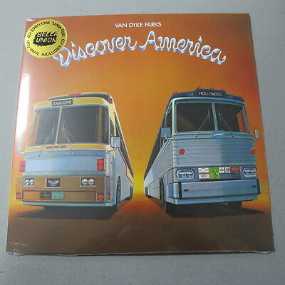 VAN DYKE PARKS - Discover America ***180g Vinyl-LP + CD***NEW***sealed***