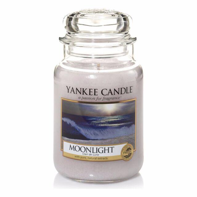 Yankee Candle Moonlight Jar 623g Großes Glas Housewarmer Duftkerze