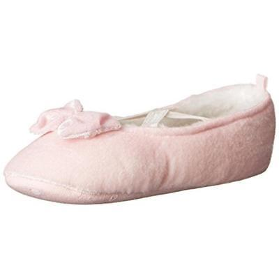 Carters Girls Danza Pink Little Kid Mary Jane Slippers Shoes XL 11-12 BHFO 6530