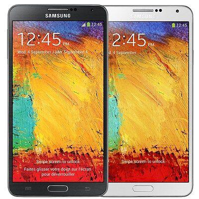 Samsung N900 Galaxy Note 3 32GB Verizon Wireless Black and White Smartphone