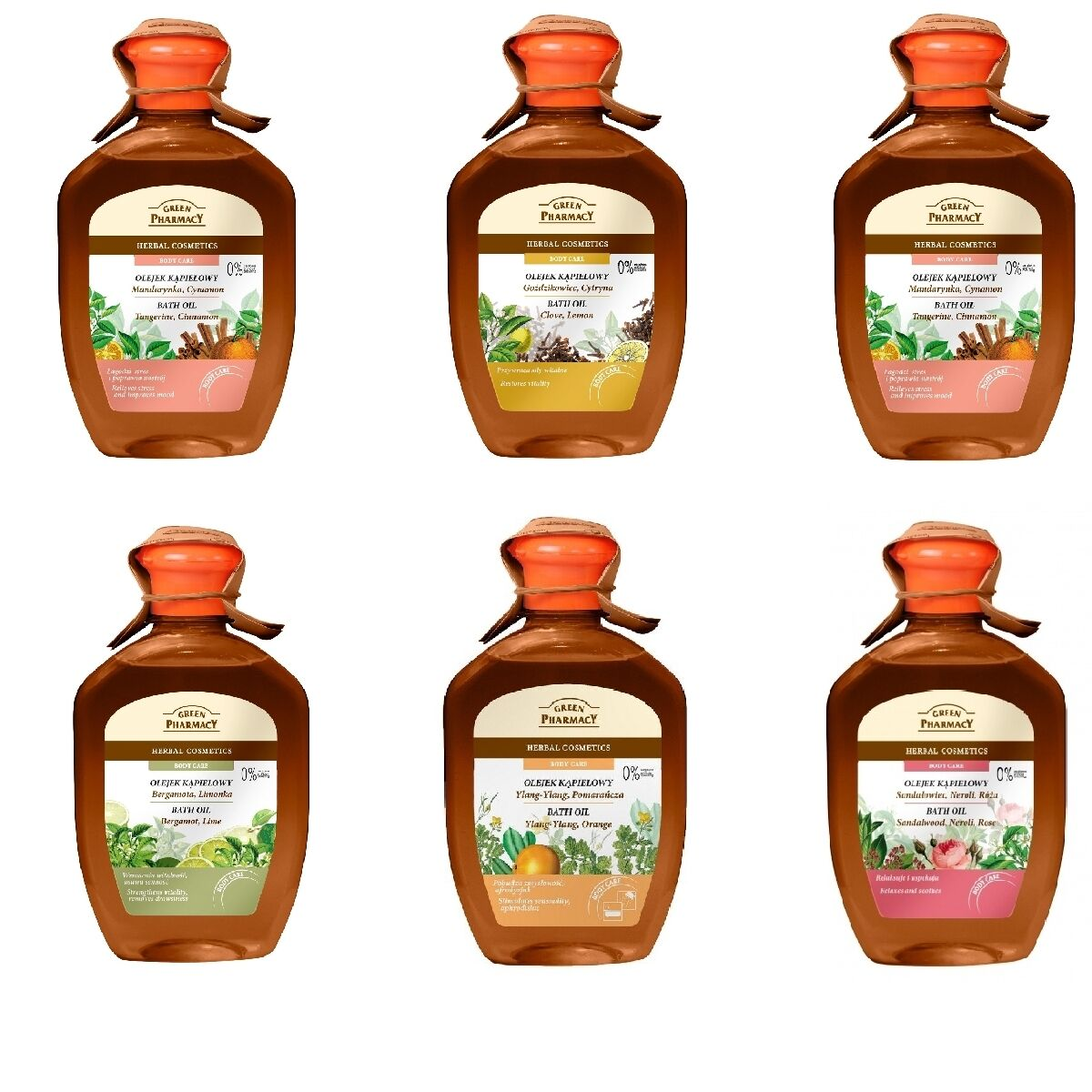 Green Pharmacy Bad- Öl Kosmetik 0% Parabene Kräuter- Pflege Anti Cellulite