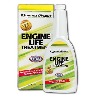Xtreme Green ENGINE LIFE TREATMENT Turns Motor Oil into Super Motor Oil 12 fl oz