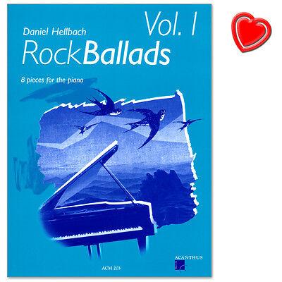 RockBallads Band 1 - 8 Klavierstücke - Acanthus Music - ACM203 - 9790000000285