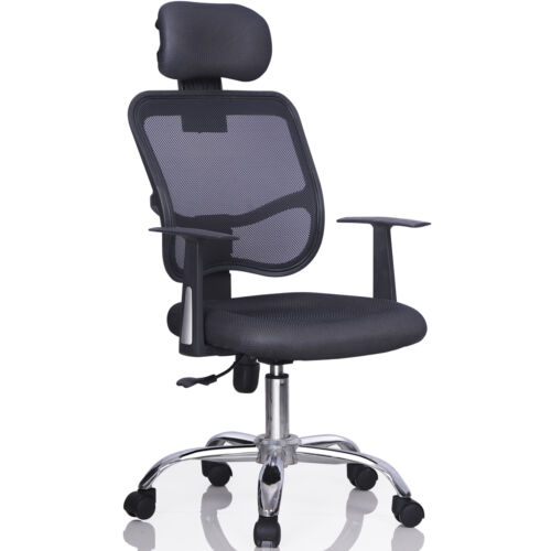 Ergonomic Mesh Task Computer Desk Office Chair High Back  : 12 Office Chair Headrest <strong>Add-On</strong> from www.ebay.co.uk size 500 x 500 jpeg 19kB