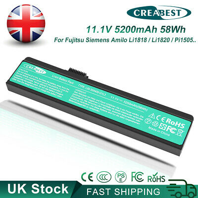 3S4000-S1P3-04 3S4000-G1S2-04 3S4000-G1P3-04 Battery For Fujitsu Siemens Amilo