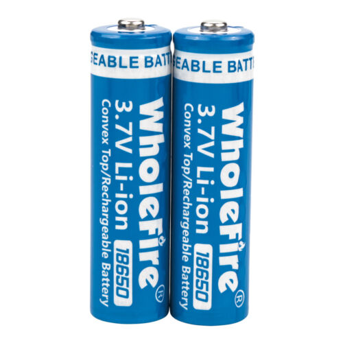 T6 LED Flashlight 2x 18650 Battery Li-ion 3.7V Rechargeable Batteries Charger - $9.99