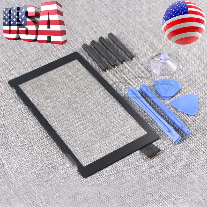 Black New For Nintendo Switch LCD Touch Screen Digitizer Glass Replacement