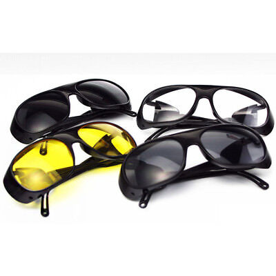 Anti-impact Factory Lab Outdoor Work Safety Eye Protective Goggles Glasses Us