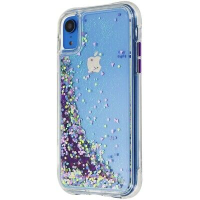 - Case-Mate CM037770 Glow Waterfall Case for  iPhone XR - Purple Glow
