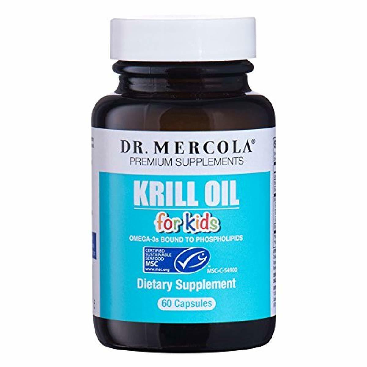 Mercola Krill Oil Kids - 60 Capsules