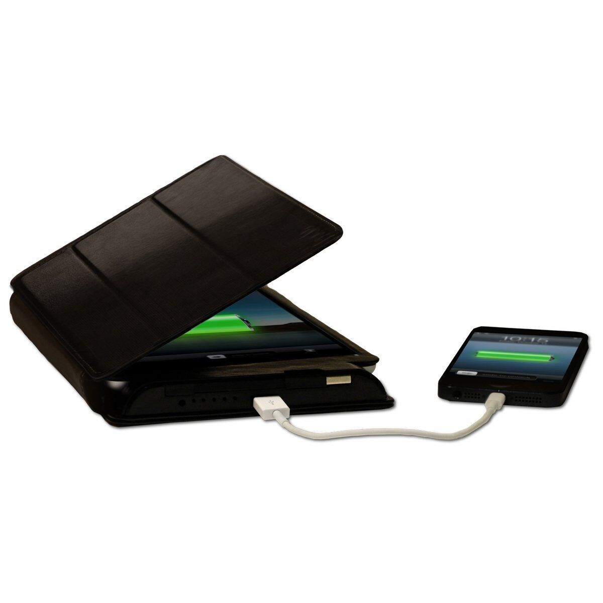 lot x5 Solar Power bank leather case Kudo for iPad Air 1 2 B