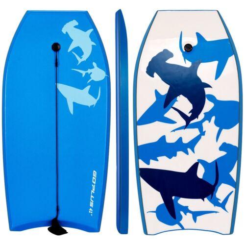 """42"""" Super Bodyboard Swimming Surfing Boarding Leash IXPE Dec"""