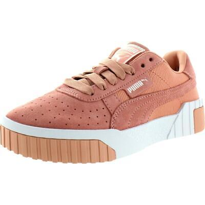 Puma Womens Cali Palm Spring Suede Platform Fashion Sneakers Shoes BHFO 2583